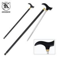 Classic Gent Self Defense Sword Cane