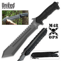 M48 Ops Combat Bowie With Sheath UC3024