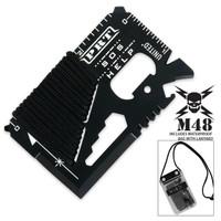 M48 Kommando Pocket Rescue Tool Wallet Card UC2860