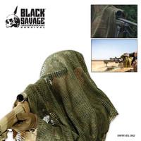 Black Savage Survival Sniper Veil Woodland