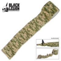 Black Legion Covert Gun Wrap Woodland Digital