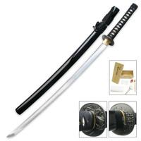 Ryumon 1095 Carbon Steel Samurai Katana With Scabbard