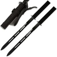 Twin Ninja Sword Two Piece Set With Sheath