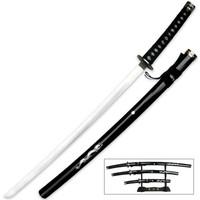 Collectors Edition Three Piece Samurai Warrior Set With Display