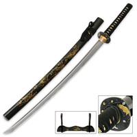 Flying Crane Hand Forged Samurai Sword