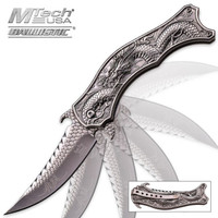 Flying Dragon Assisted Opening Folding Pocket Knife