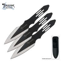 Typhoon Triple Throwing Knife Set With Sheath