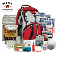Five-Day Survival Backpack, Red