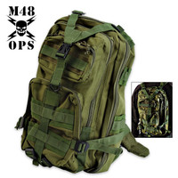 M48 Gear Tactical Knapsack Backpack Green