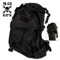 M48 Gear Backpack Black