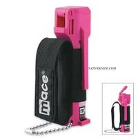 Mace Sport Jogger Defense Pepper Spray Hot Pink