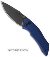 Kershaw Launch 1 Automatic Knife Blue Aluminum Handle KER7100BLUBW