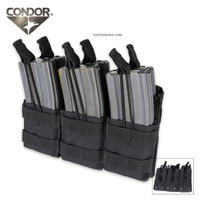 Condor Triple Stacker M4 Mag Pouch AR-15 Mag Pouch