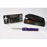 Marfione Custom HALO 5 OTF Automatic Knife High Polish Tanto Point