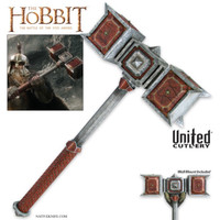 The Hobbit War Hammer of Dain Ironfoot UC3166