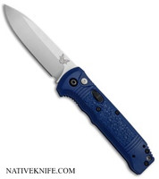 Benchmade Casbah Automatic Knife Blue Grivory 4400-1