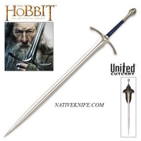 Officially Licensed The Hobbit Glamdring Sword of Gandalf UC2942