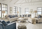 Traemore Linen Sofa, Loveseat, Chair and a Half, Ottoman & Accent Chair