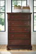Porter Rustic Brown Chest