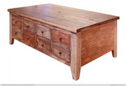 Antique Collection Multi Drawer Cocktail Table