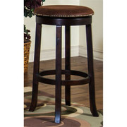 "30""H Santa Fe Swivel Stool w/ Cushion Seat"