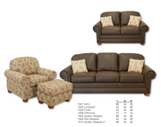 Best Craft 7602 Loveseat