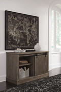 Luxenford Grayish Brown Large Credenza