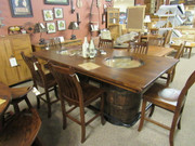 Double Barrell Jim Beam Dining Set