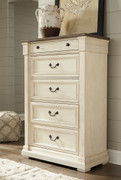 Bolanburg Two-tone Five Drawer Chest