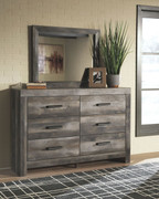 Wynnlow Gray Dresser & Mirror