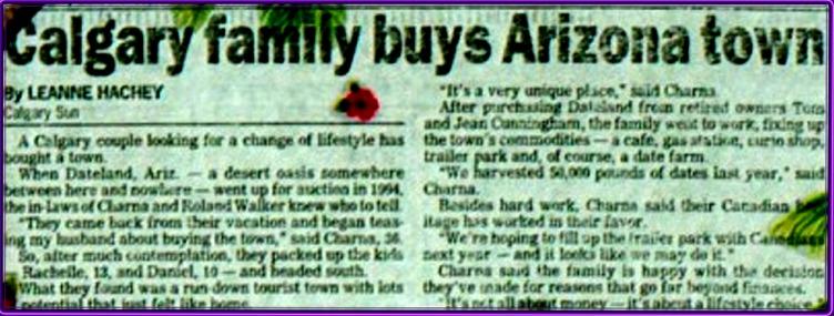 Calgary Sun - January 1995