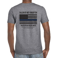 Personalized ODMP Memorial Shirt Honoring Fallen Officers