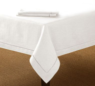 "Hemstitch Tablecloths 60"" x 104"""