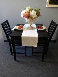 "Organic Essentials White Organic Cotton Table Runner -  14"" x 108"""