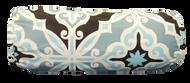 "Aqua Diamond Bolster Pillow Cover 6""x16"""