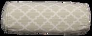 "Ogee Lattice Bolster Pillow Cover 6""x16"""