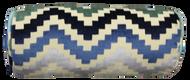 """Multi Colored Chevron Bolster Pillow Cover 6""""x16"""""""