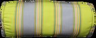 """Green Stripe Bolster Pillow Cover 6""""x16"""""""