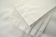 Hemstitch Dinner Napkins - White 20x20