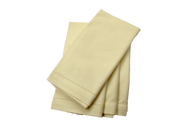 Hemstitch Dinner Napkins - Ivory 20x20