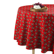 American Bald Eagle Red Round Tablecloths