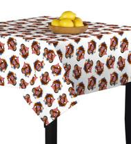American Bald Eagle White Square Tablecloths