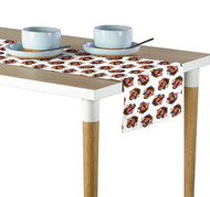 American Bald Eagle White Table Runners