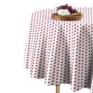 American Red Stars Round Tablecloths