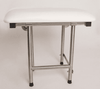 Wall Mounted Shower Seat | Folding & Padded | 500# Wt Cap