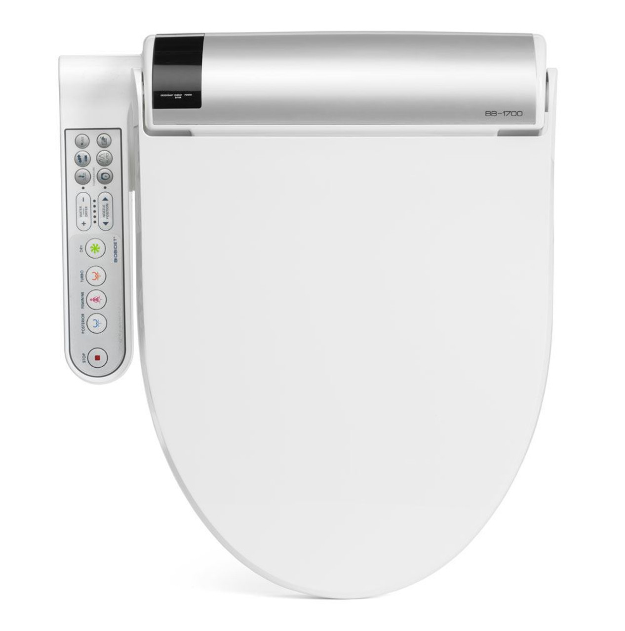 Bidet Toilet Seat   BLISS with Side Controls by BioBidet Top View. Bidet Toilet Seat   BLISS with Side Controls by BioBidet