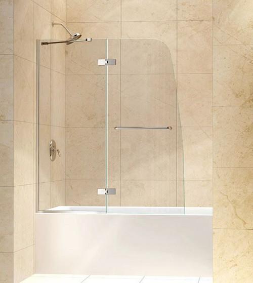 48 x 58 Curved Bathtub Door | Aqua Ultra | Dreamline