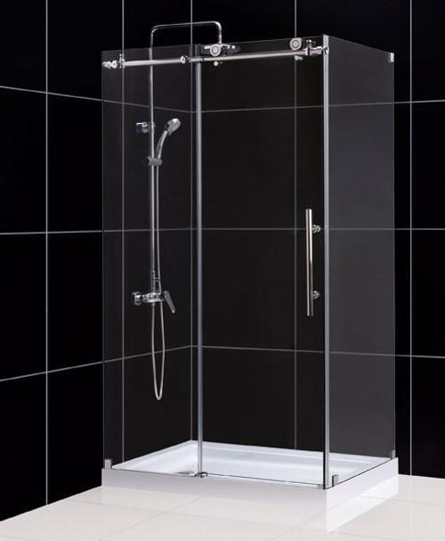 dreamline enigma x shower enclosure lglass shape