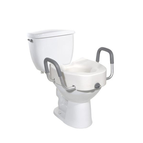 """5"""" Raised Toilet Seat with Arms 