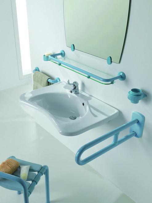 wall mounted bathroom sink optional tilt